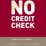 No Credit Check Requirements